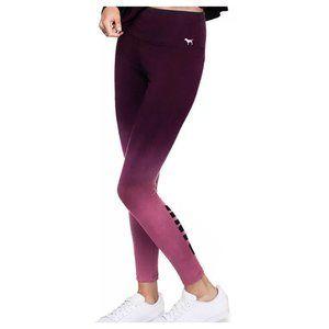 Victorias secret pink ombre high rise leggings M